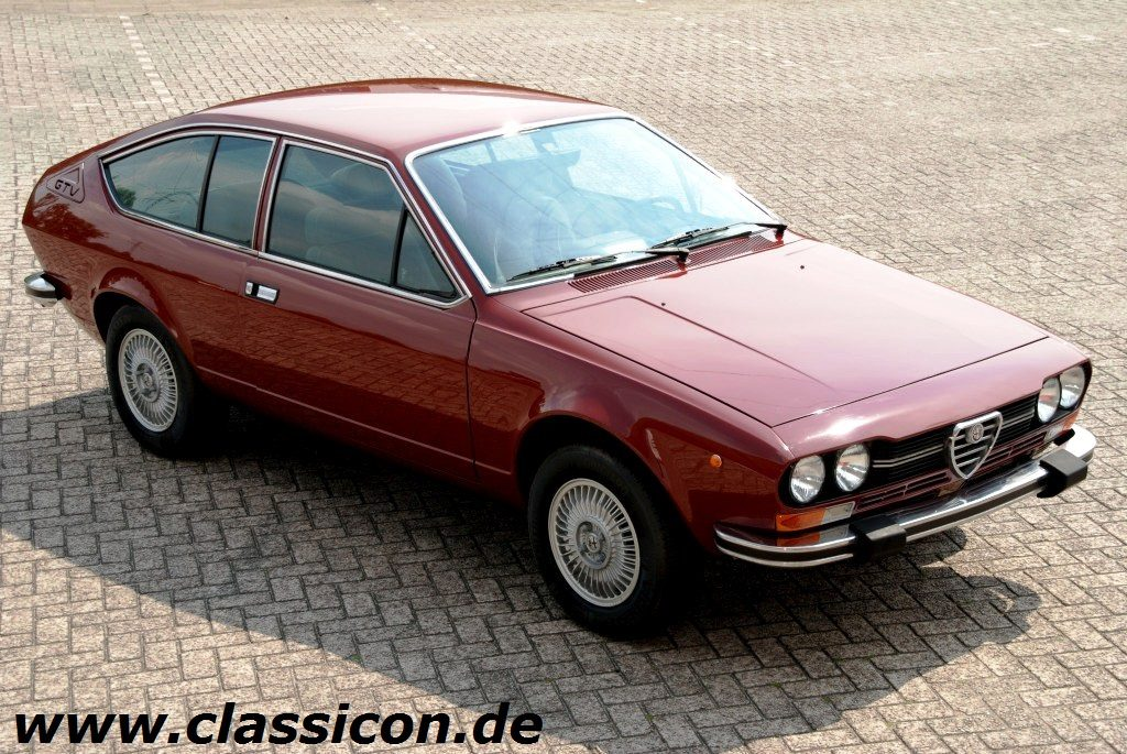1976 alfa romeo alfetta gtv 2000 classicon motorwagen. Black Bedroom Furniture Sets. Home Design Ideas