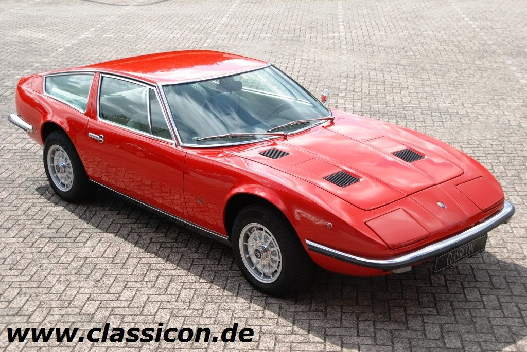 1973 - MASERATI Indy 4900 - 01