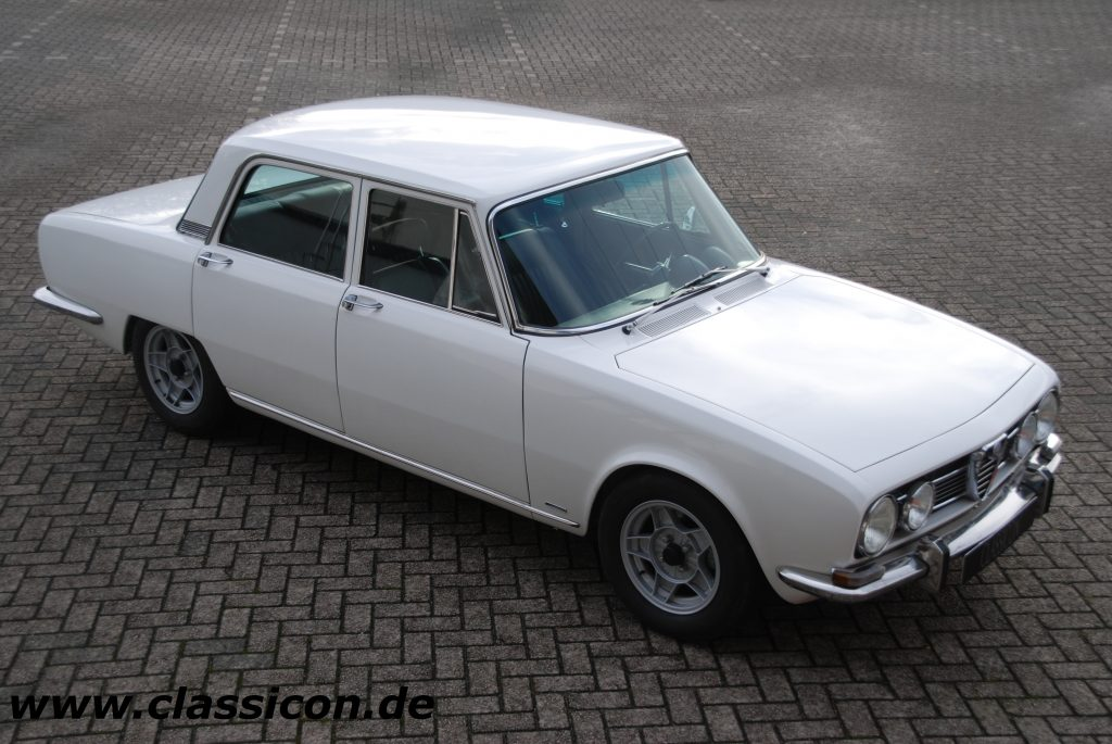 1969 - ALFA ROMEO Berlina 1750