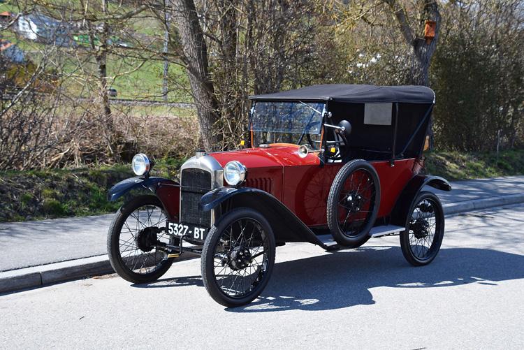 1922 – PEUGEOTType 172 Quadrilette