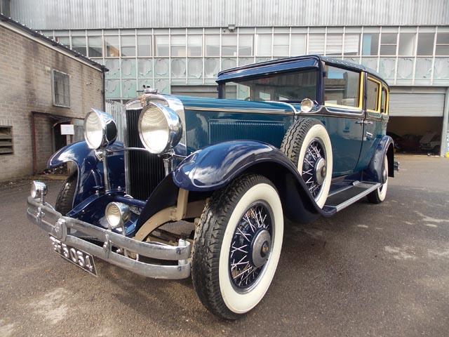 1930 – NASH494 Straight Eight Sedanca deVille