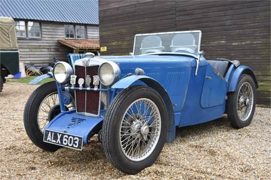 1933 – MGJ2 Midget