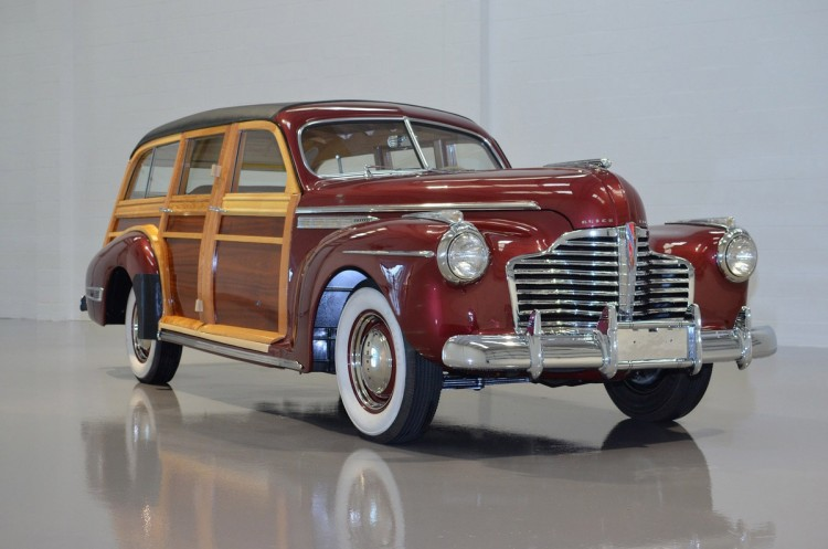 """1941 – BUICKEight Series 49 """"Woodie"""" Wagon"""