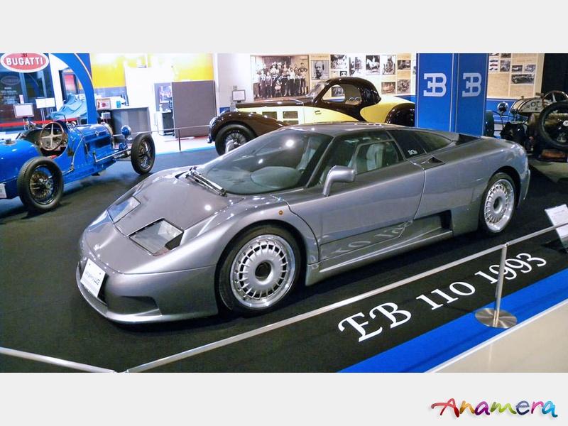 1993 – BUGATTIEB 110 GT