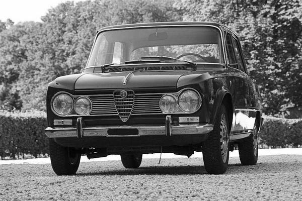 ALFA ROMEO  Giulia Super 1600 - alle Baujahre