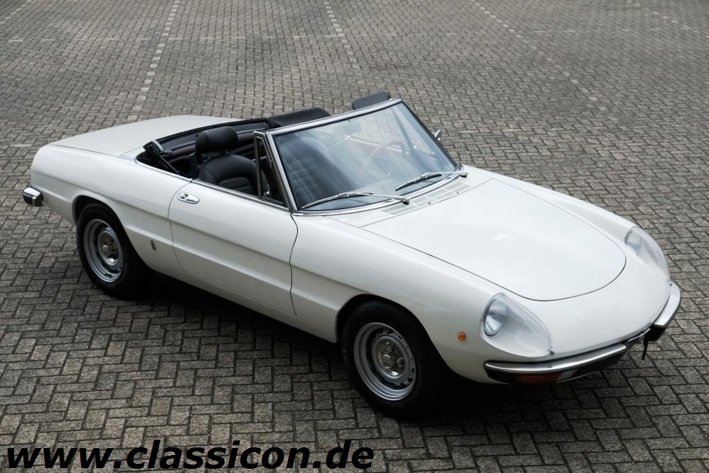 1974 alfa romeo spider 2000 veloce classicon. Black Bedroom Furniture Sets. Home Design Ideas