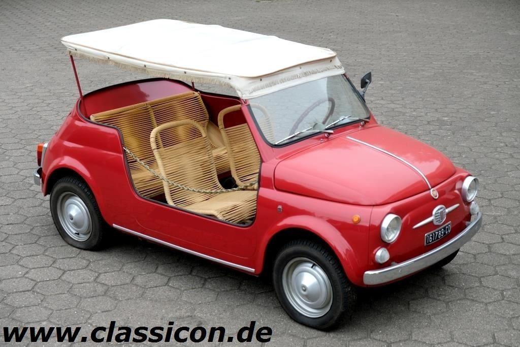 1961 - FIAT nouva 500 D Jolly - 01