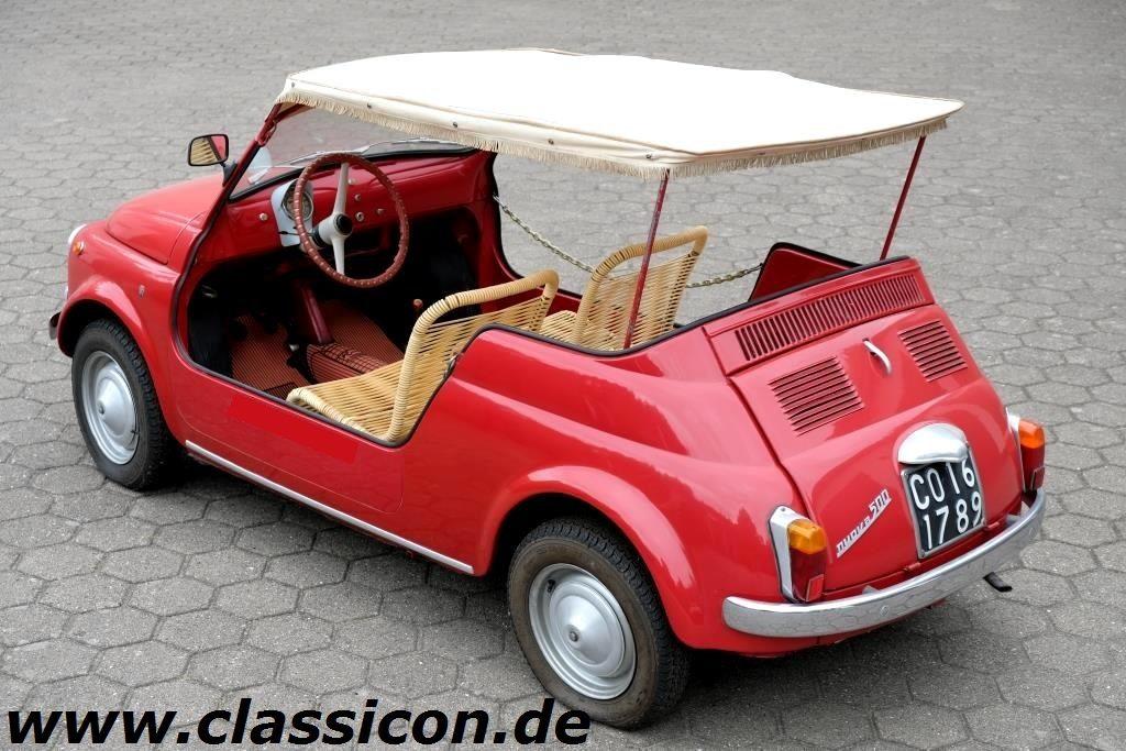 1961 - FIAT nouva 500 D Jolly - 40