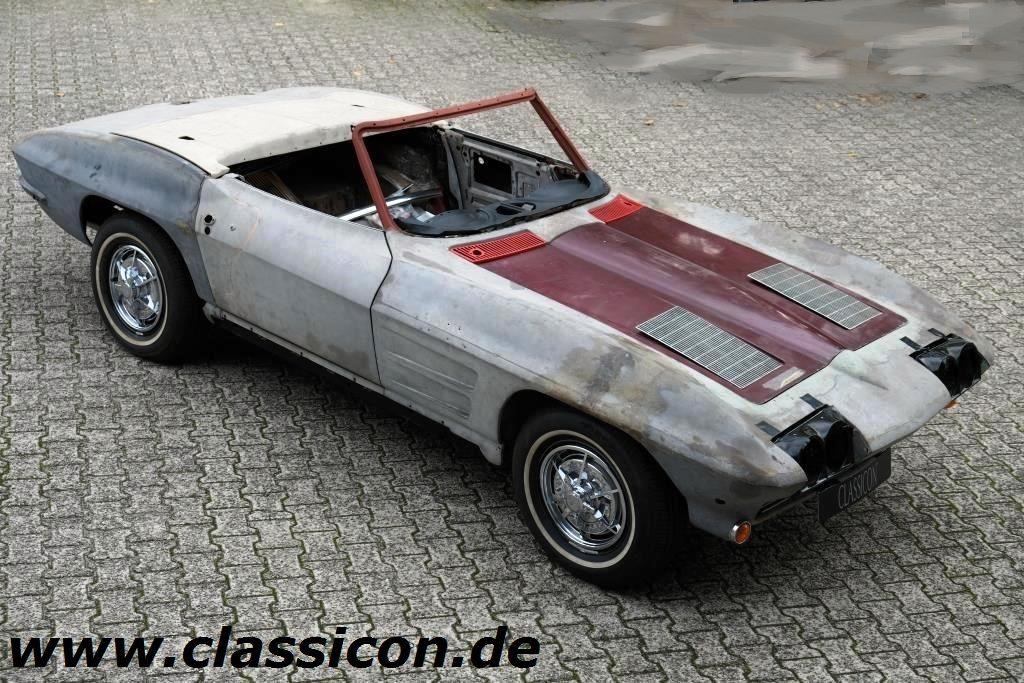 1963 Chevrolet Corvette C2 Sting Ray Roadster Classicon Motorwagen Media Gmbh